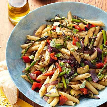 vegetarian-grilled-veggie-pasta-salad